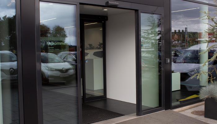 Dørautomatik, Ejner Hessel