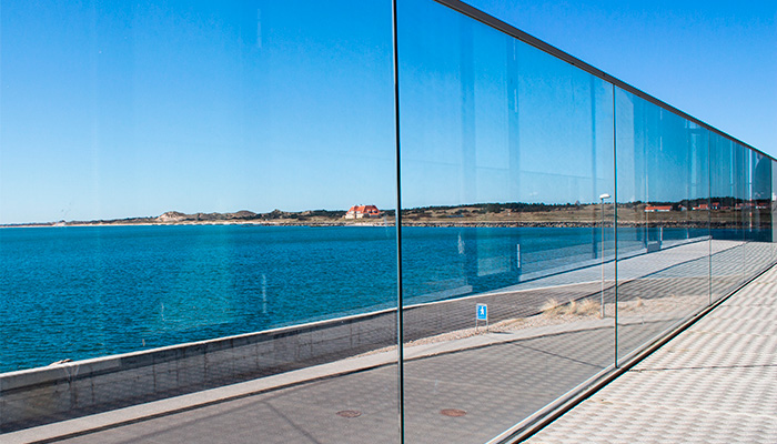 Glasværn og glasvægge, Skagen