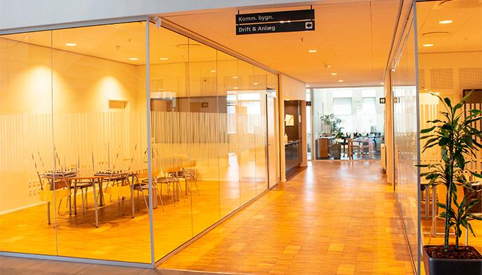 Glasvægge, Skive Rådhus