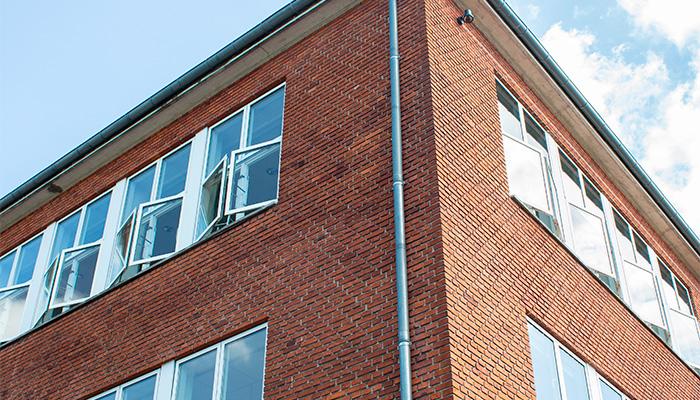 Naturlig ventilation, Næstved gymnasium